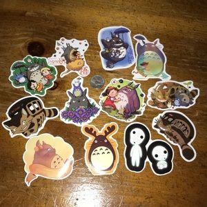 2 dozen My Neighbor Totoro Stickers
